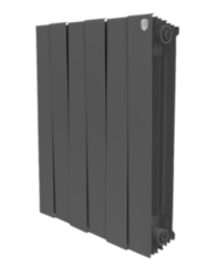 Радиатор отопления Радиатор отопления Royal Thermo PianoForte 500 NoirSable (5 секций)