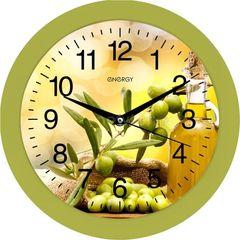 Часы Часы Energy Настенные часы Energy EC-100 оливки