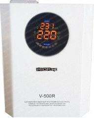 Стабилизатор напряжения Стабилизатор напряжения Profline PROFline V 500 R (белый)