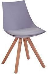 Кухонный стул Atreve Stella (серый/бук)