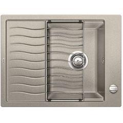Мойка для кухни Мойка для кухни Blanco Elon 45 S (520992) жемчужный с отводной арматурой InFino