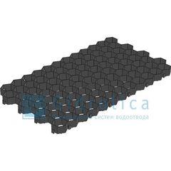 Gidrolica Решетка газонная Eco Standart РГ-70.40.3,2 черная (608)