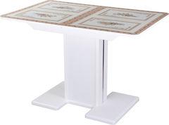 Обеденный стол Обеденный стол Домотека Танго ПР (СТ-72/белый/05) 70x110(147)x75