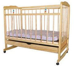 Детская кровать Кроватка РУПП ИУ-5 из массива сосны