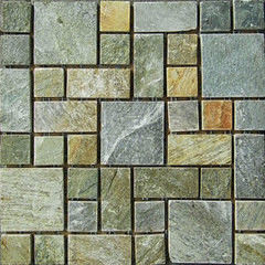 Натуральный камень Натуральный камень АЛЬТЕРфасад Мозаика из сланца Cordwood (с большим содерж. кварца)