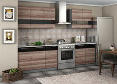 Кухня Кухня Интерьер-Центр Олеся ясень шимо темный