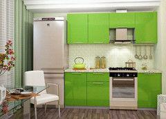 Кухня Кухня Интерьер-Центр Олива зеленый