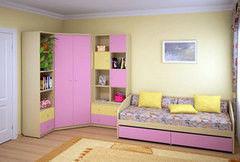 Детская комната Детская комната The Мебель Пример 48