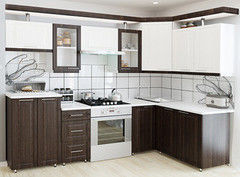 Кухня Кухня АМИ Надежда 2.1 (МДФ П)