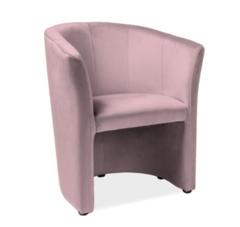 Кресло Кресло Signal TM-1 Velvet Bluvel 52 (античный розовый)