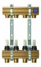 Комплектующие для систем водоснабжения и отопления KAN-therm Коллекторная группа (серия 55A) 55090A