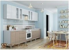 Кухня Кухня SV-Мебель Волна Капучино
