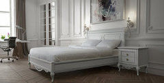 Кровать Кровать Timber Неаполь T-538 ваниль