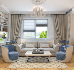 Дизайн гостиной Майстэрня Аднапакаёвых Кватэр Проект №8