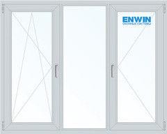 Окно ПВХ Окно ПВХ Enwin 70/5 Omega 2060*1420 2К-СП, 5К-П, П/О+Г+П
