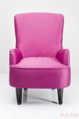 Кресло Kare Boudoir Fuchsia 78839