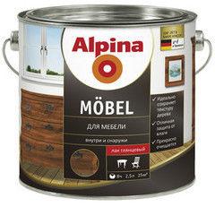 Лак Лак Alpina Mobel 0.75 л