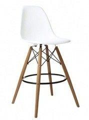 Барный стул Барный стул Sedia Kord Hoker (белый/дерево)