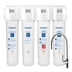 Фильтр для очистки воды Система очистки воды Аквафор Кристалл ЭКО Н