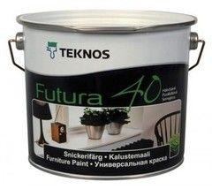 Краска Краска Teknos Futura 40 (0.9 л) база 3