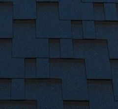 Гибкая черепица Гибкая черепица RoofShield Премиум Модерн Синий