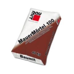 Сухая кладочная смесь Сухая кладочная смесь Baumit MauerMortel 100