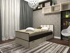 Кровать Кровать Настоящая мебель Весна 900x2000