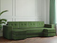 Диван Диван Настоящая мебель Ванкувер Модерн (модель: 00-00000046) зелёный