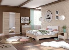 Спальня Империал Аврора 2 (сонома/белый)
