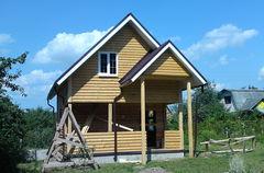 Строительство домов Строительство домов WoodHata F-D-07