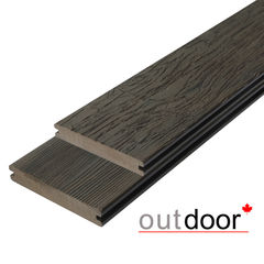 Декинг Декинг Outdoor 3D Storm/Old Wood Brown ДПК 140x21x2900 (темно-коричневая)
