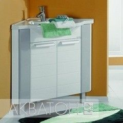 Мебель для ванной комнаты Акватон Тумба Альтаир 62 белая (1.A042.6.01A.R01.0)