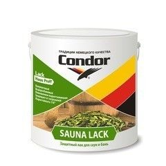Лак Лак Condor Sauna Lack (2.3 кг)