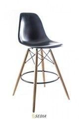 Барный стул Барный стул Sedia Kord Hoker (черный/дерево)