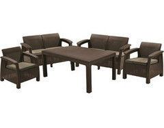 Комплект мебели из ротанга Keter Corfu Fiesta