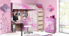 Детская комната Детская комната Калинковичский мебельный комбинат Волшебница (вариант 1)