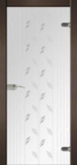 Стеклянная дверь Dariano Люкс (стекло прозрачное)