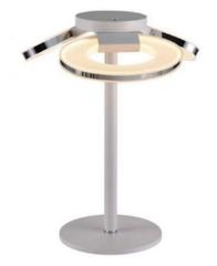 Настольный светильник IDlamp Celia 399/3T-LEDWhitechrome