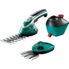 Режущий инструмент для сада Садовые ножницы Bosch Isio 3 (насадка кусторез, пульвелизатор)