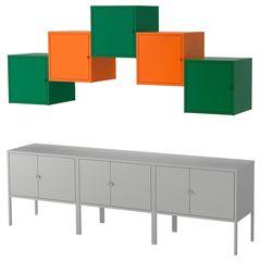 Шкаф металлический IKEA Ликсгульт 492.489.24