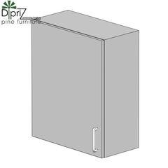 Кухонный шкаф Кухонный шкаф Диприз Шкаф верхний 60 Д 9001-4-1 (1 дверь)