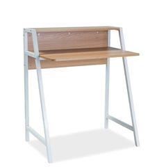Письменный стол Signal Timo B (дуб/белый)