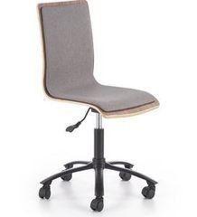 Офисное кресло Офисное кресло Halmar Jack (грецкий орех/серый)
