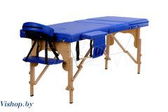 Мебель для салонов красоты  Массажный стол Body Fit 70 см складной 3-с деревянный синий XXL