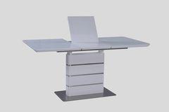 Обеденный стол Обеденный стол Avanti Zen (1200-1600x800x760) Super White (экстра белый лак)