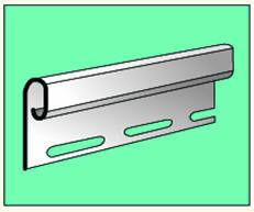 Сайдинг Сайдинг Vox S-14 Планка заканчивающая (светло-зелёная)