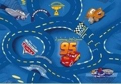 Ковер AW World of cars blue (95х133)