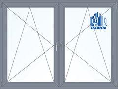 Алюминиевое окно Татпроф 2000*1500 ПО+ПО