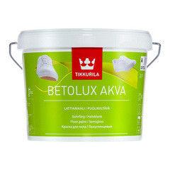 Краска Краска Tikkurila Betolux Akva Lattiamaali (базис А, 2.7 л)