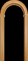 Межкомнатная арка Юркас Валенсия Миланский орех